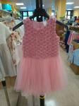 Vestito Rose Tulle Bimba 7 Ann