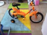 Bici Bimbo Arancio Coccodrillo