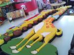 Giraffa Polistirolo /trenino