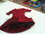 Vestito Bordeaux Bimba 3/4 A