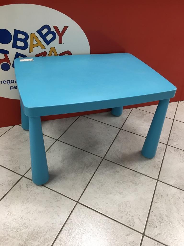 Tavolino Mammut Ikea.Tavolino Mammut Ikea Rettangolare Azzurro In Vendita A Baby