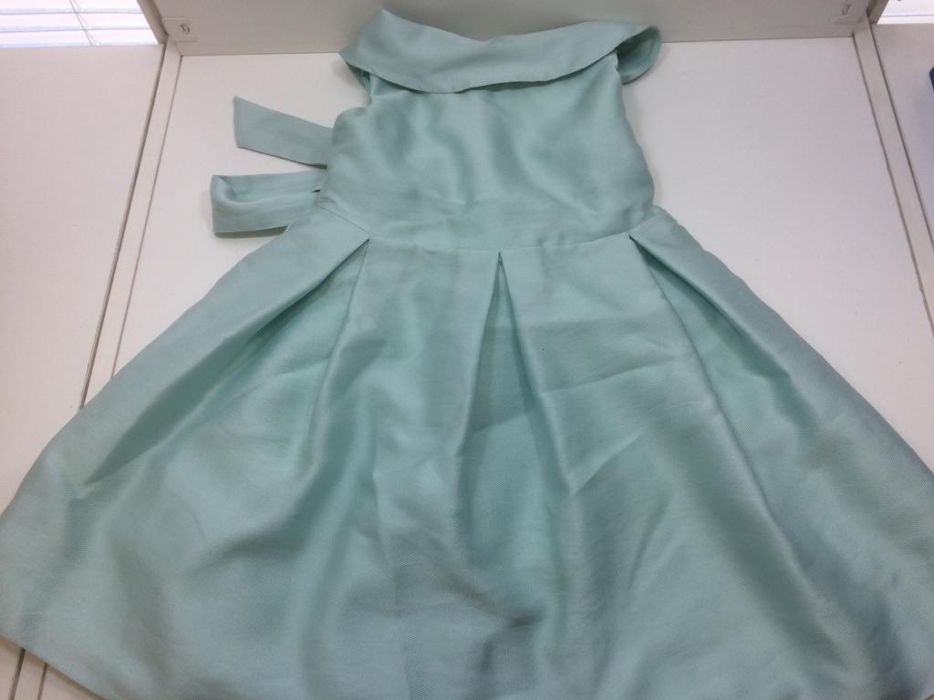 22f0b1103a Abito Elegante Da Cerimonia Piccola Doll 4 Anni Bimba Color Verde ...