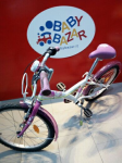 Bicicletta Bimba Mis.22 B-twin Rosa