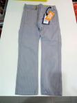 Pantalone Bimbo Grigio Righine Bianche 6 A Sarabanda Nuono