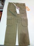 Pantalone Verde Militare 4/5 A Dodipetto Nuovo