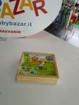 Puzzle In Legno Con Contenitorew