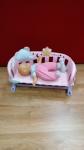 Bambola Nenuco Con Culla
