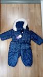 Tutone Bimba 9/12 Mesi Prenatal Blu Con Stelline