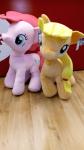 Peluche Grande My Little Pony Rosa/arancione Cm 90 Nuovo