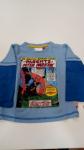 Maglia Bimbo 2/3 Anni Spiderman Azzurra