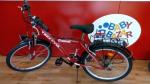 Bicicletta Ragazzo/a Raggio 24 Courage Con Cambio Rossa
