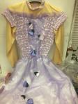 Costume Principessa 6/8 Anni Bimba (Senza Trucchi)
