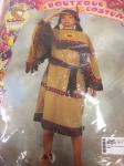 Costume Carnevale Indiana 3/4 Anni Bimba