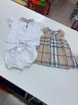 Vestitino Burberry 12m + T-shirt E Culotte