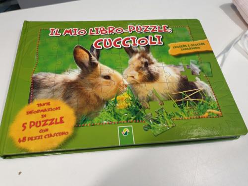 Libro Puzzle Cuccioli