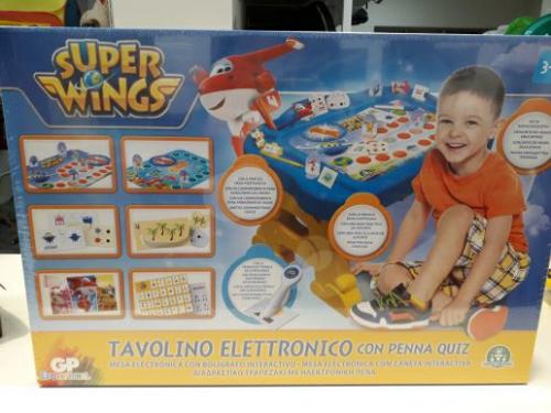 Nuovo Tavolino Elettronico Con Penna Quis Super Wings - Idea Regalo