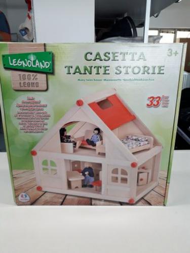 Legnoland - Casa delle Bambole Tante Storie In Legno - Pari A Nuovo