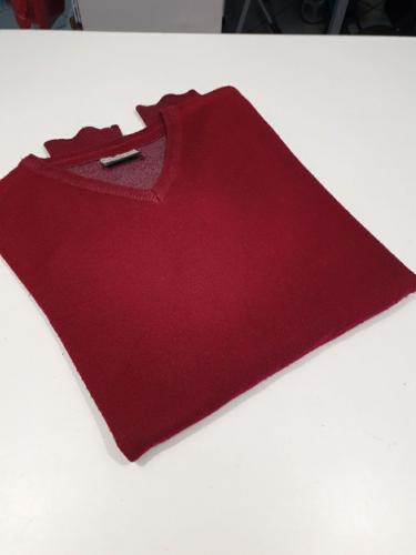 Maglione Rosso Bimbo Ragazzo 9/10 Anni