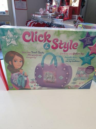 Nuovo Gioco Sigillato Click & Style - Crea La Tua Fashion Bag - Idea Regalo