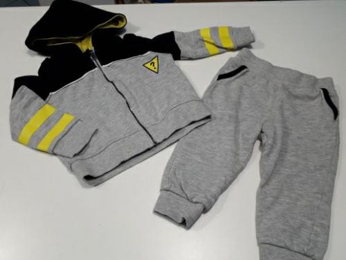 Guess Tuta Completa Felpa + Pantaloni 12 Mesi 1 Anno - Firmato Smart