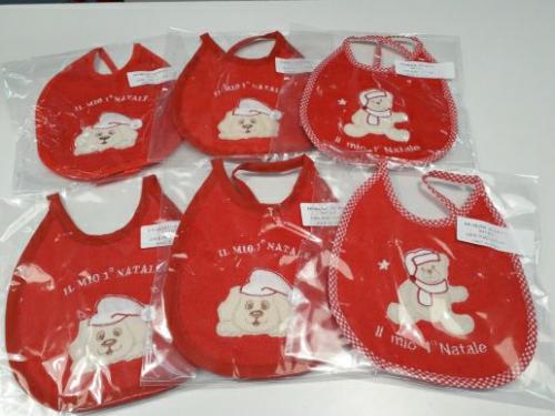 Nuovo Bavaglino Di Natale Rosso - Idea Regalo