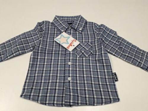 Nuovo Camicia Bimbo 6 Mesi Con Cartellino - Idea Regalo