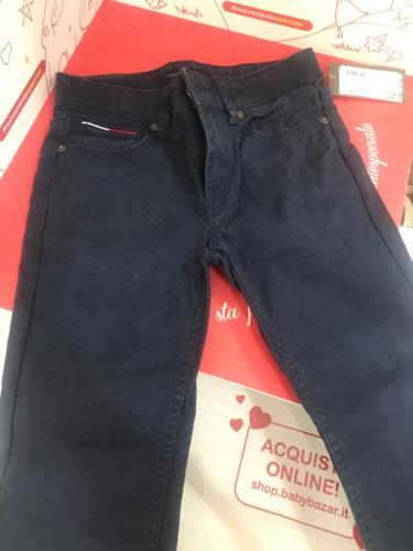 Pantaloni Bimbo Blu 8 A Tommy Hilfiger
