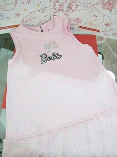 Vestito Bimba Rosa 12/13anni Barbie Original