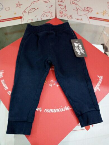 Pantalone Bimbo Blù 12/18mesi Fagottino