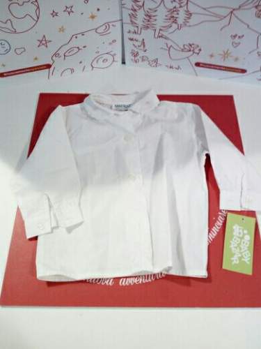Camicia Bimba Bianca 9 M Mafrat