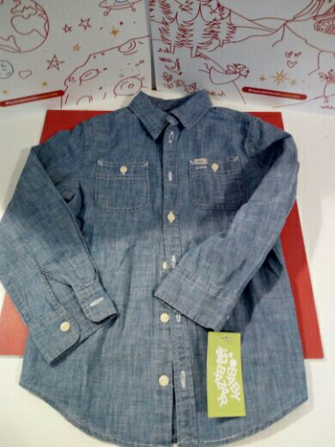 Camicia Bimba Jeans 6 A Ralph Lauren