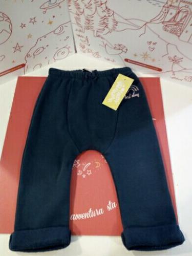Pantaloni Imbottiti Tipo Tuta Blu 2 A