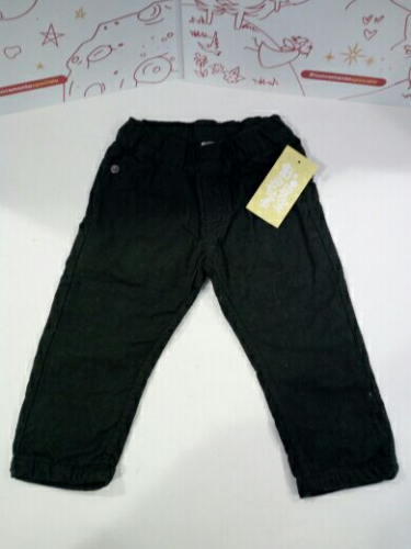 Pantalone Vell.Bimbo Verde 18mesi Grain De Blè