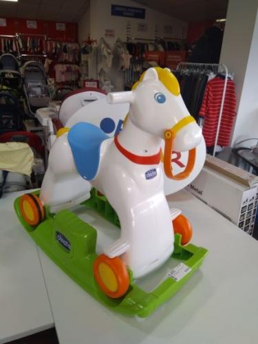 Cavallino A Dondolo/ruote Chicco Rodeo