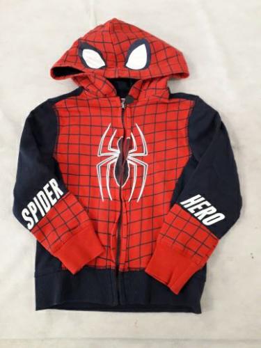 Felpa Bimbo 4-5 Anni Spiderman