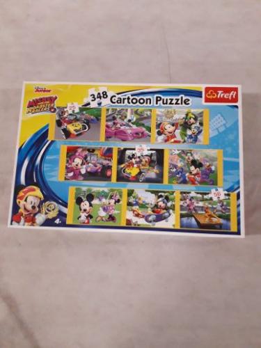 Gioco Cartoon Puzzle