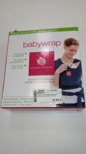 Fascia Portabebè Babywrap Viola Quarantasettimane
