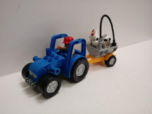 Trattore Con Personaggi Lego Duplo