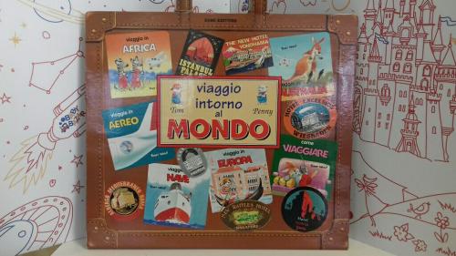 Libro VaLIGIA Viaggio Intorno Al Mondo Con N°12 Libri