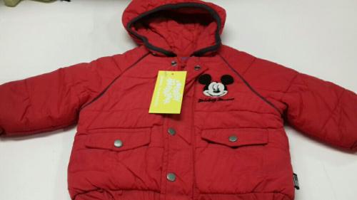 Giacca Bimbo 6m Disney Rossa