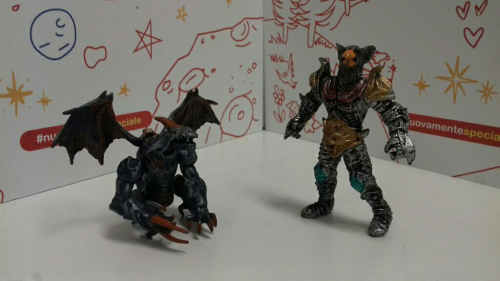 Drago Contro Uomo Aquila