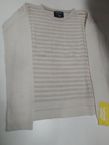 Maglione Bimba 10A Woolrich Beige/Oro