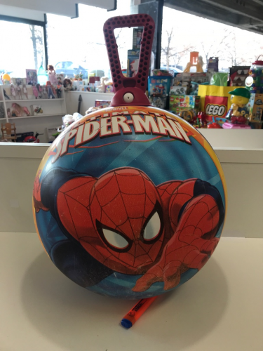 PALLONE SALTERINO SPIDERMAN