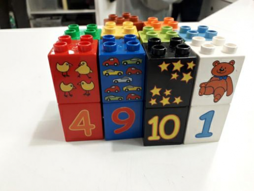 Lego Duplo Con Numeri